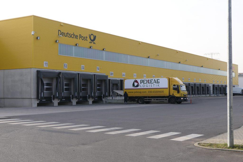 DHL-Delivery Zentrum in Berlin-Lichtenberg