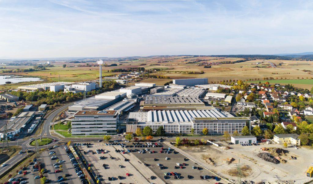 Hauptsitz der Kaeser Kompressoren SE im oberfränkischen Coburg. Bild: Kaeser